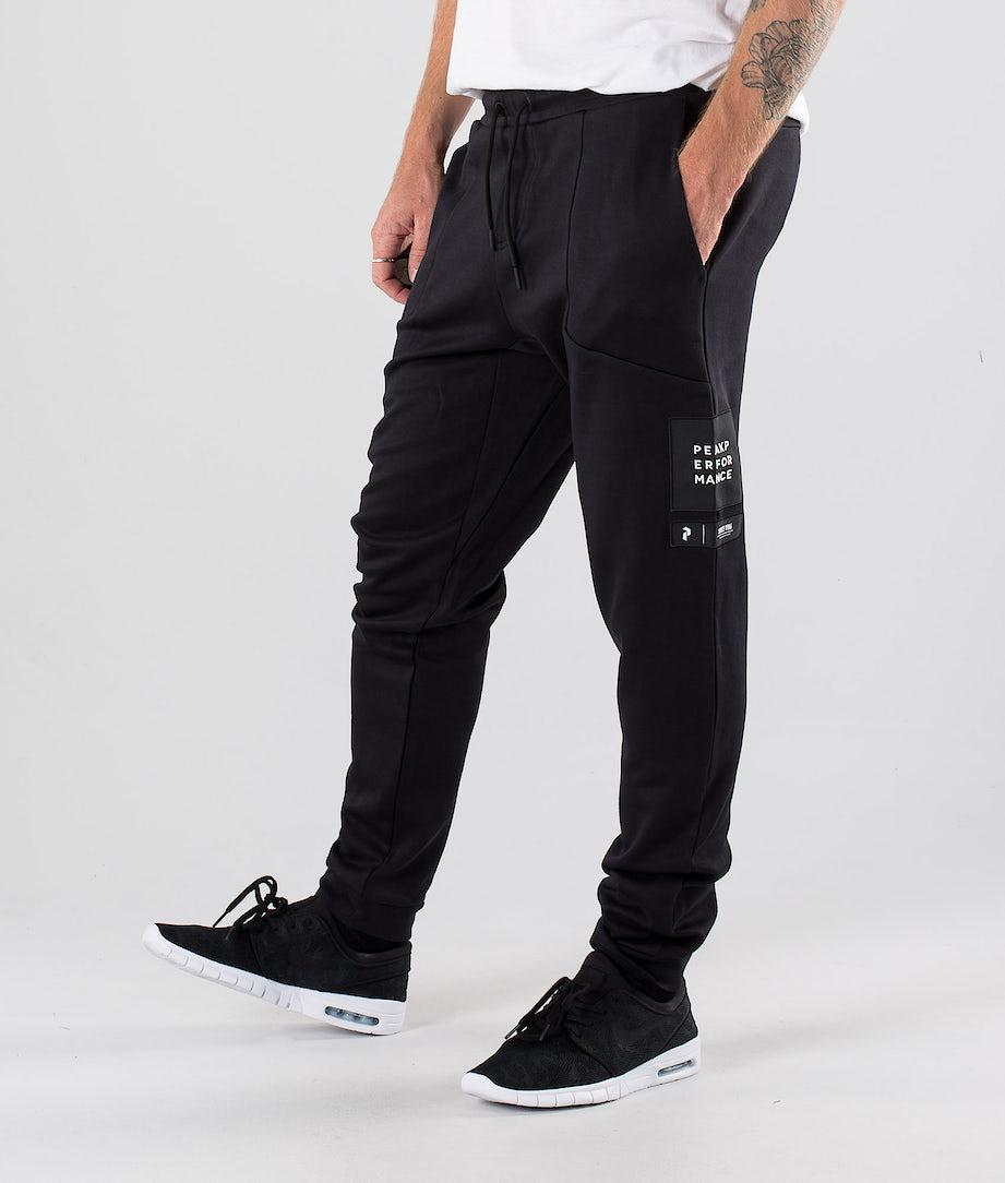 Peak Performance Tech Pantalon Black