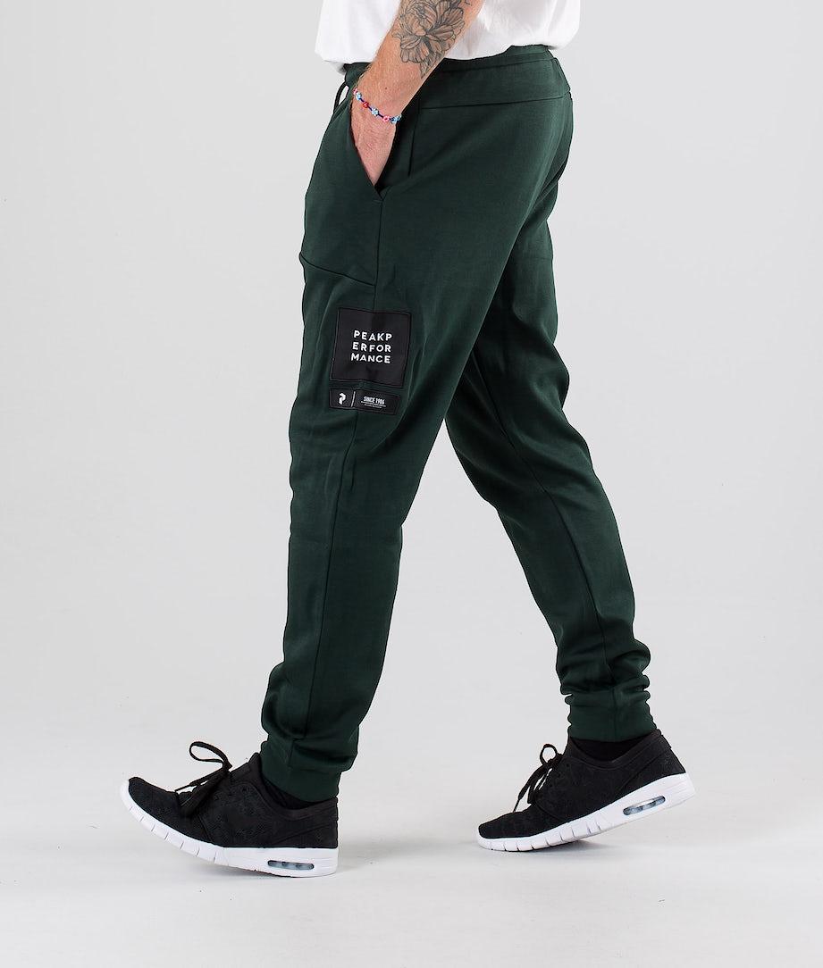 Peak Performance Tech Pantalon Scarab Green