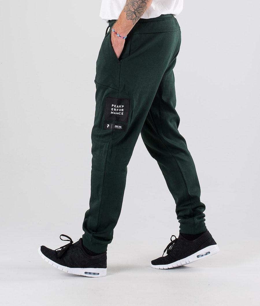 Peak Performance Tech Pants Scarab Green