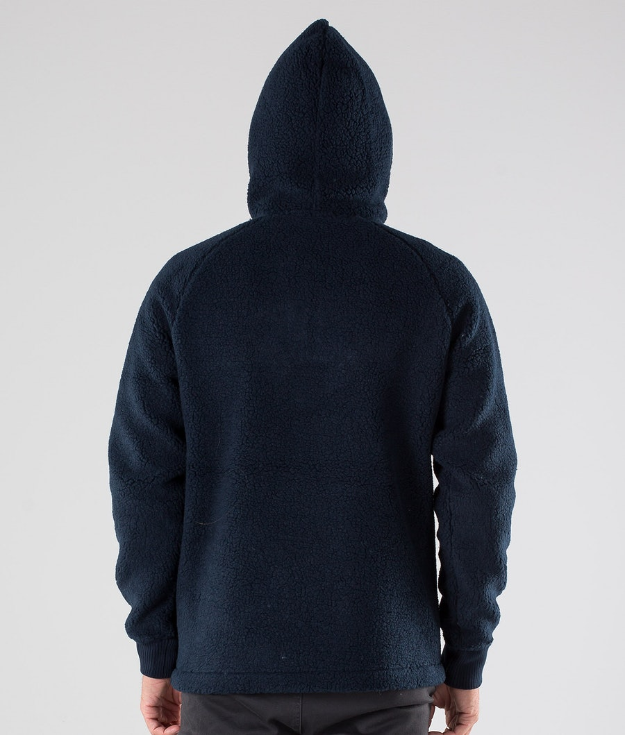 Peak Performance Original Pile Zip Hood Salute Blue