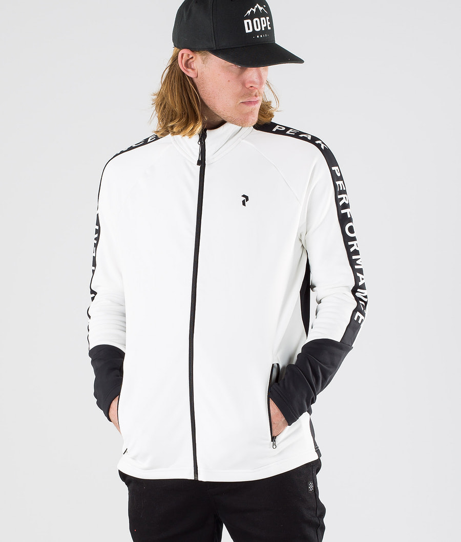 Peak Performance Rider Zip Tröja Offwhite