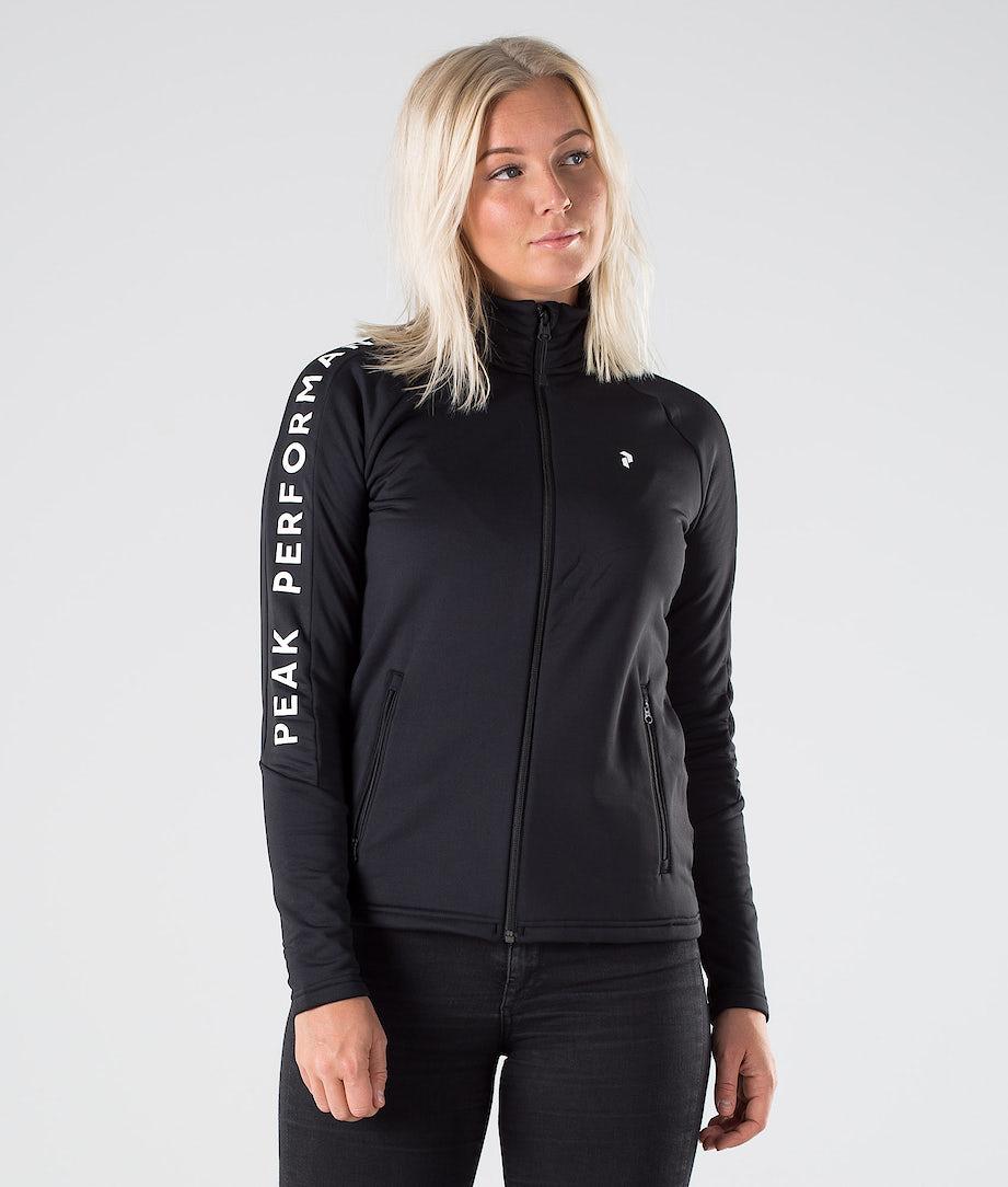 Peak Performance Rider Zip Sweatshirt Black
