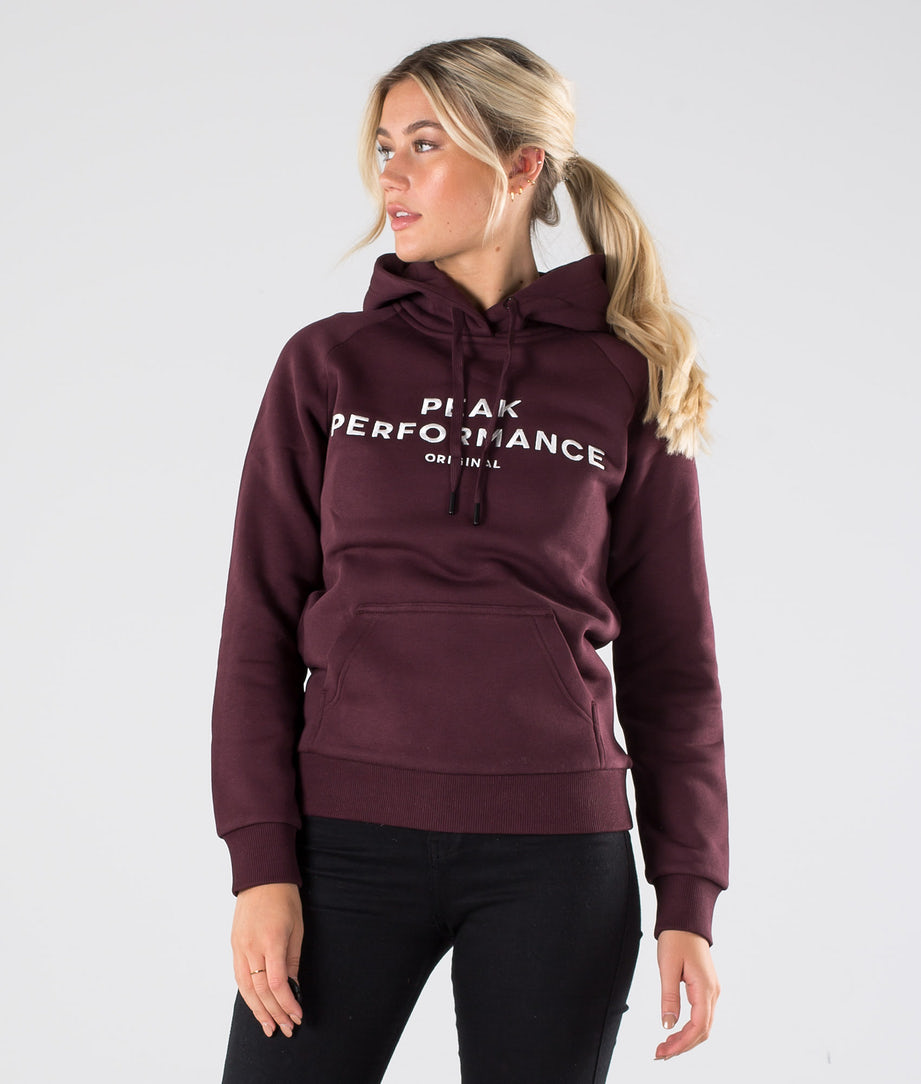 Peak Performance Original Hoodie Mahogany