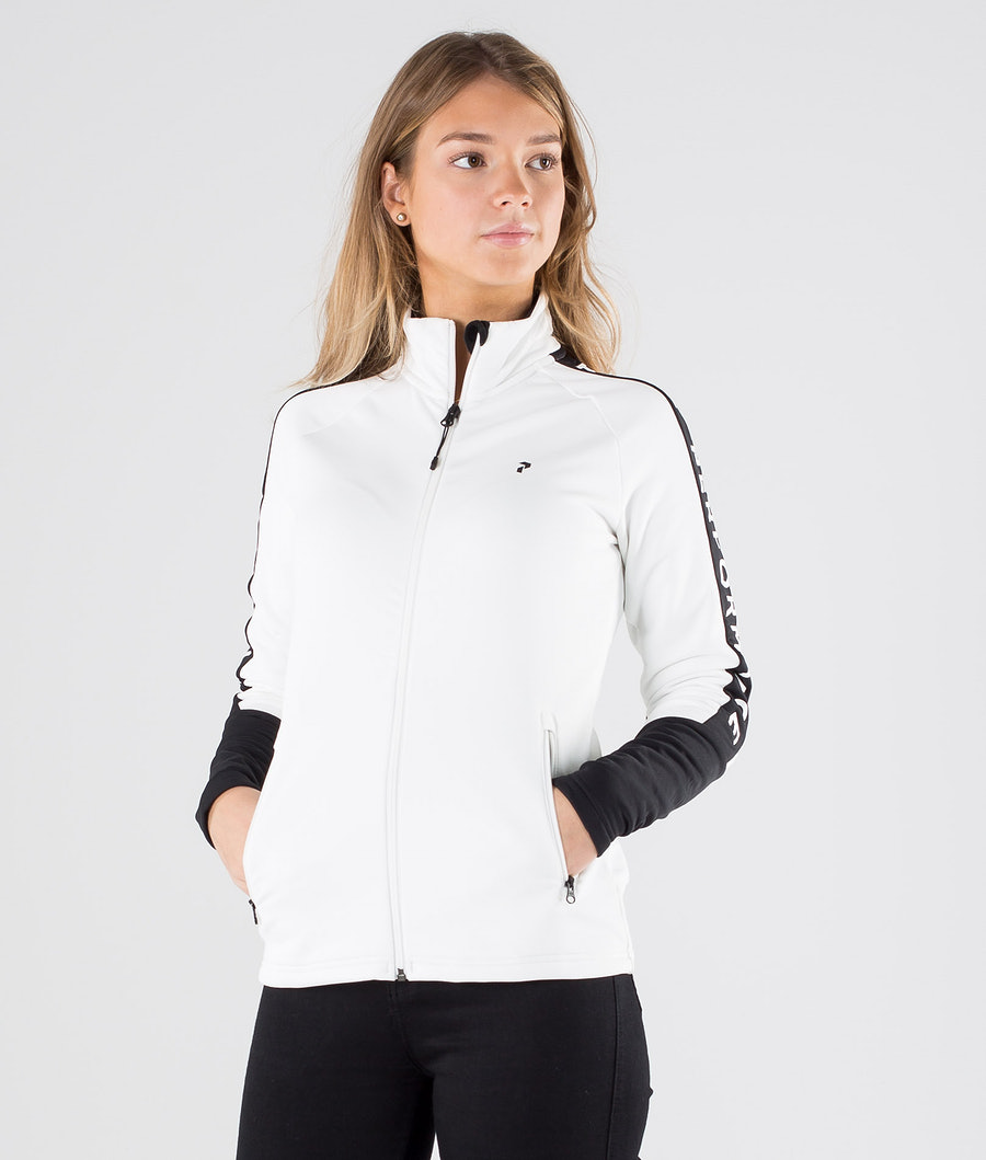 Peak Performance Rider Zip Sweater Offwhite