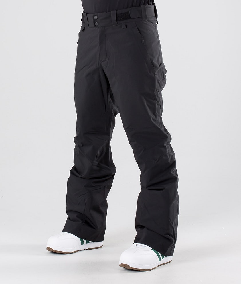 Peak Performance Maroon Snowboard Pants Black
