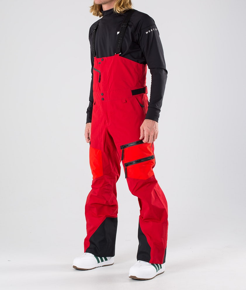 Peak Performance Vertical Snowboardbyxa Dark Chilli