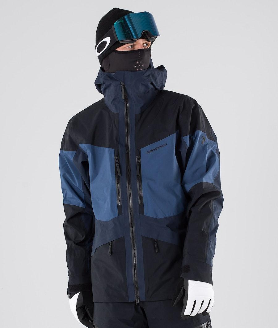Peak Performance Gravity Giacca da snowboard Decent Blue
