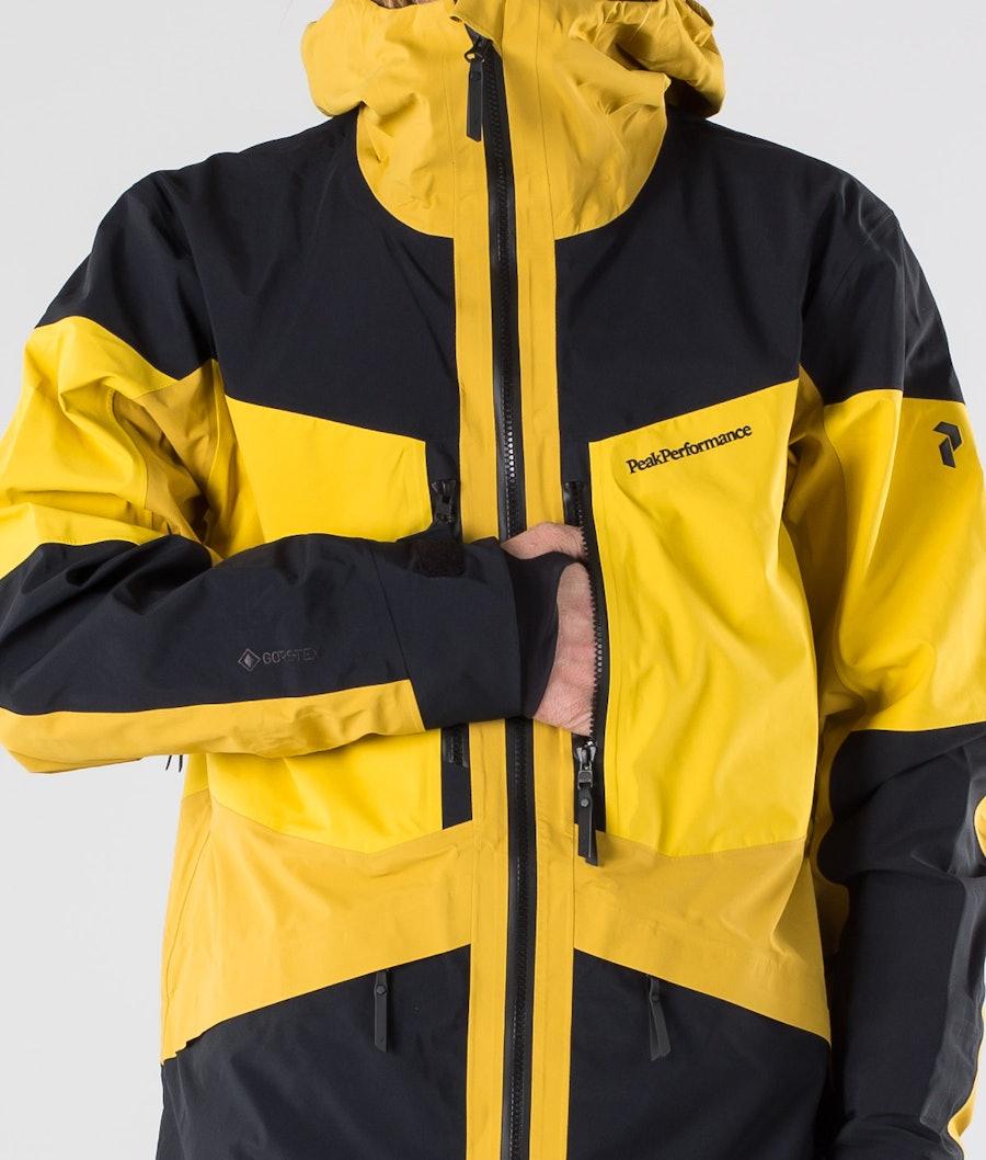 Peak Performance Gravity Snowboardjacke Yellow Flow