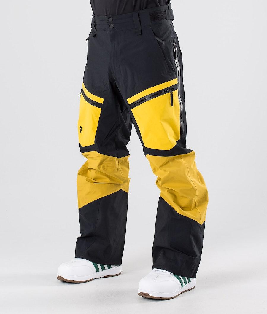 Peak Performance Gravity Pantaloni da snowboard Yellow Flow