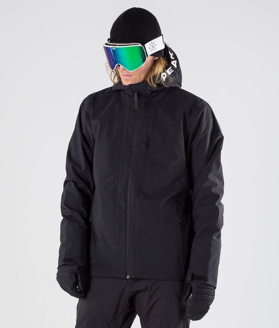 Peak Performance Rider Ski Snowboard Jacket Black