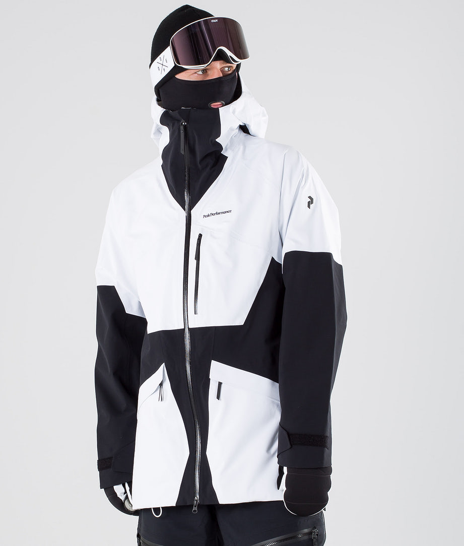 Peak Performance Volcan 3L Snowboard Jacket Offwhite