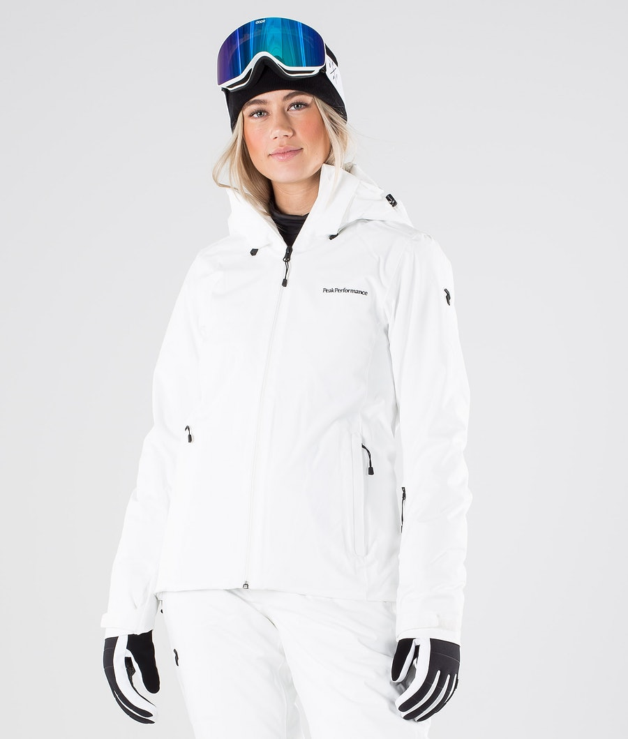 Peak Performance Anima Snowboard Jacket Offwhite