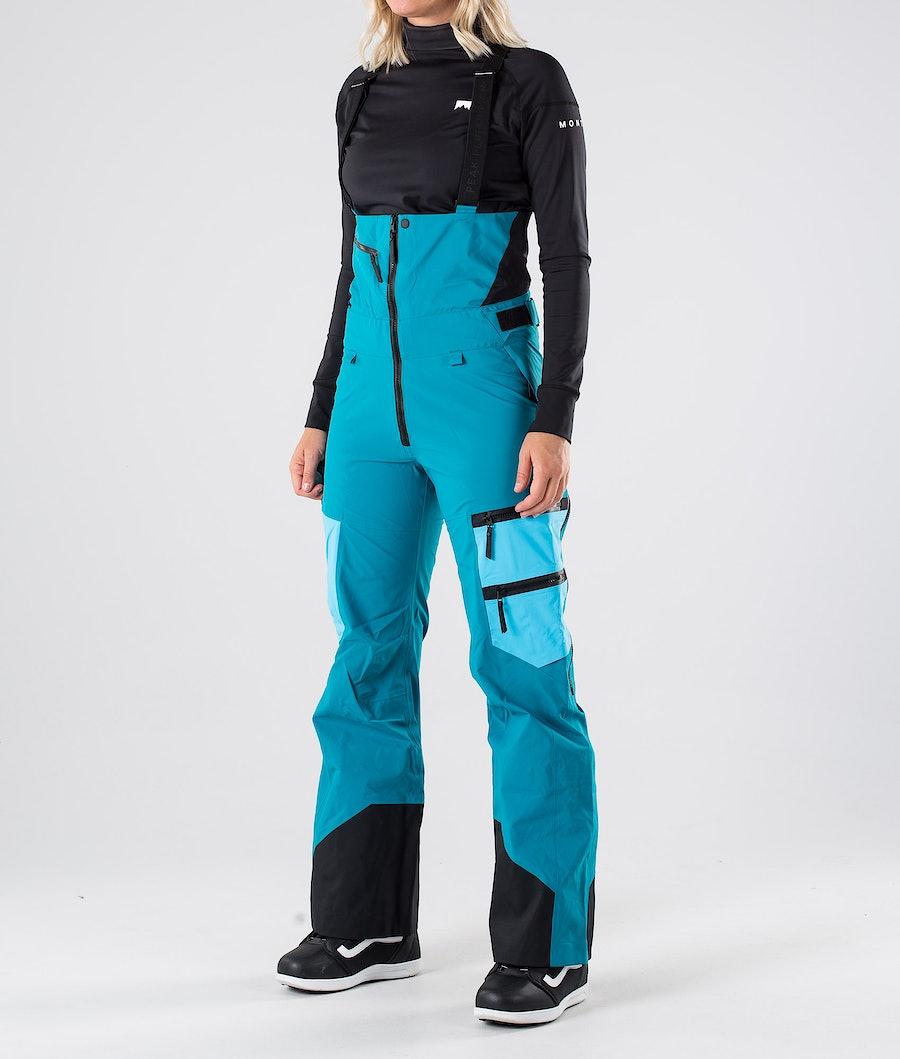 Peak Performance Vertical Snowboardbyxa Deep Aqua
