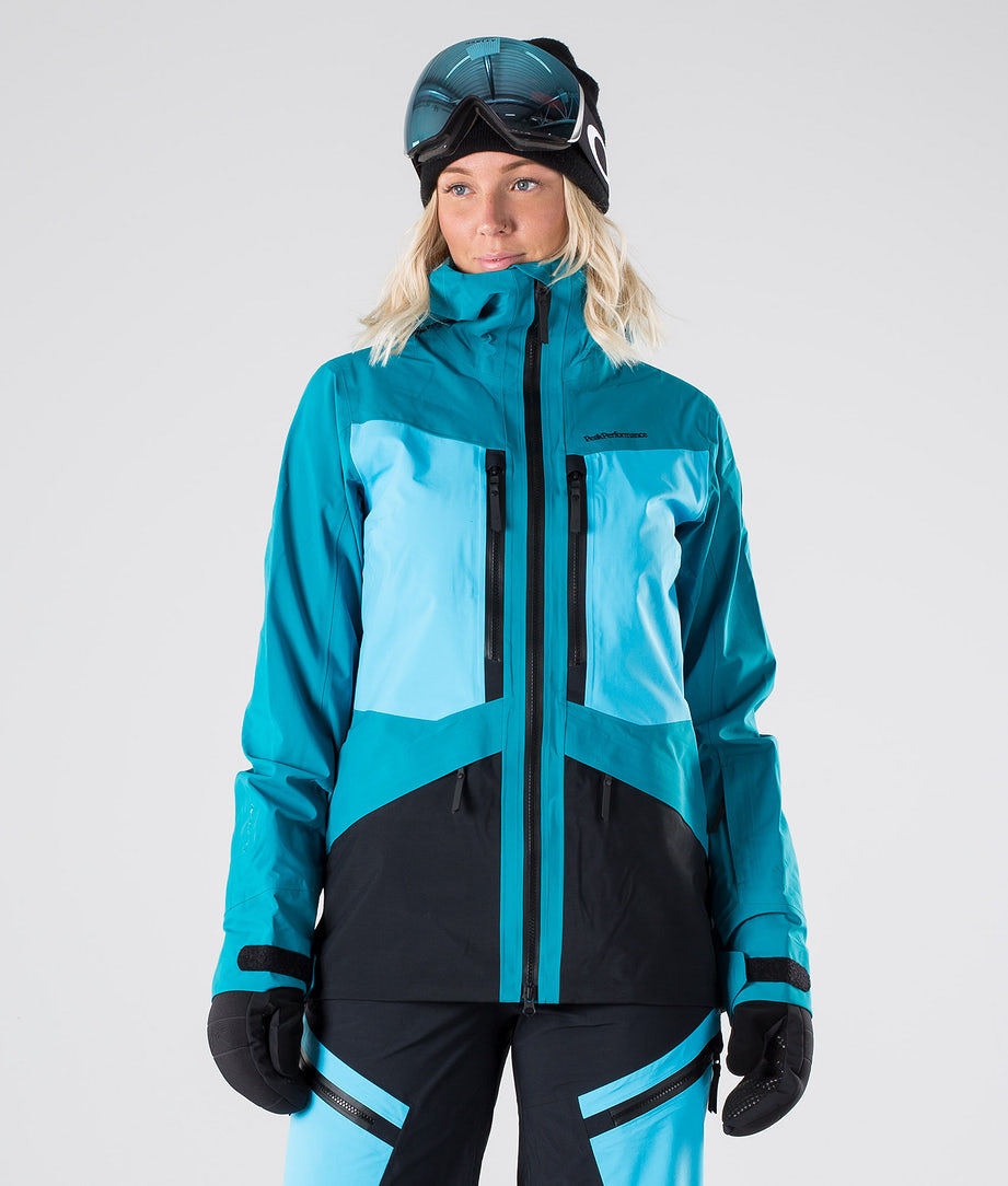 Peak Performance Gravity Snowboardjakke Deep Aqua