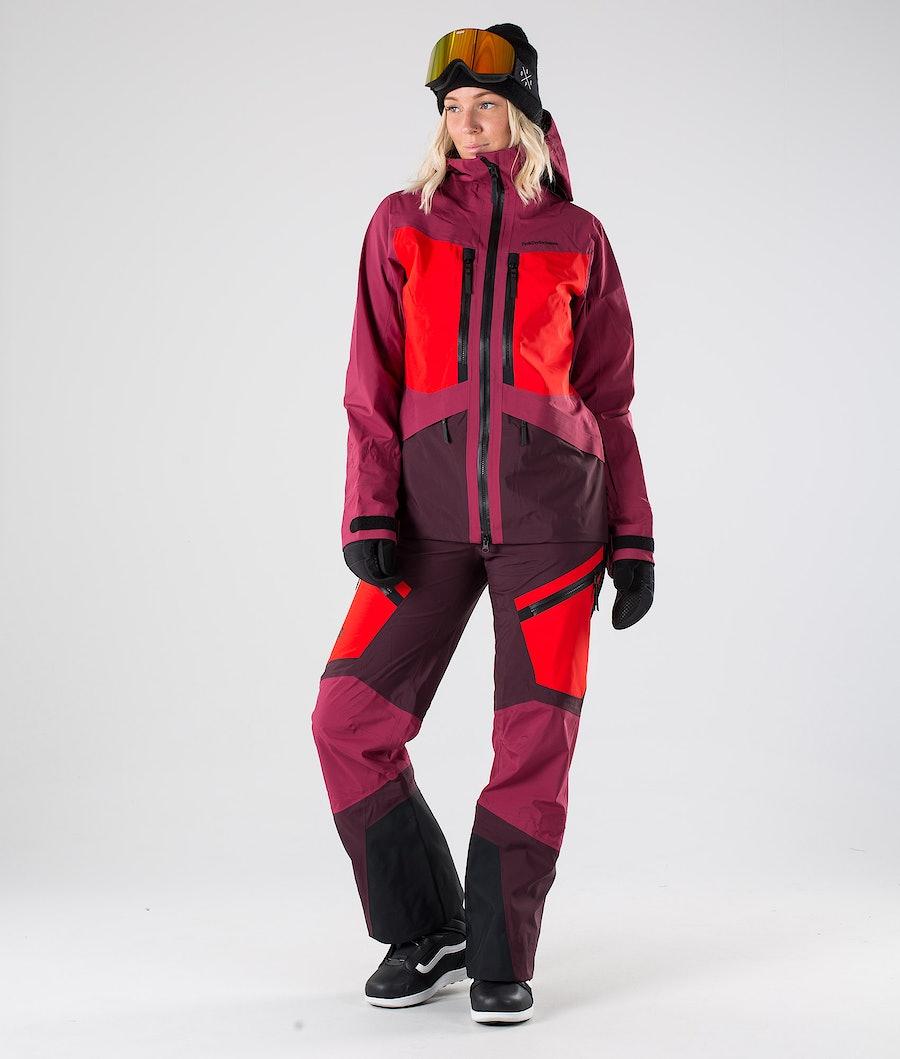 Peak Performance Gravity Snowboardjacke Damen Rhodes