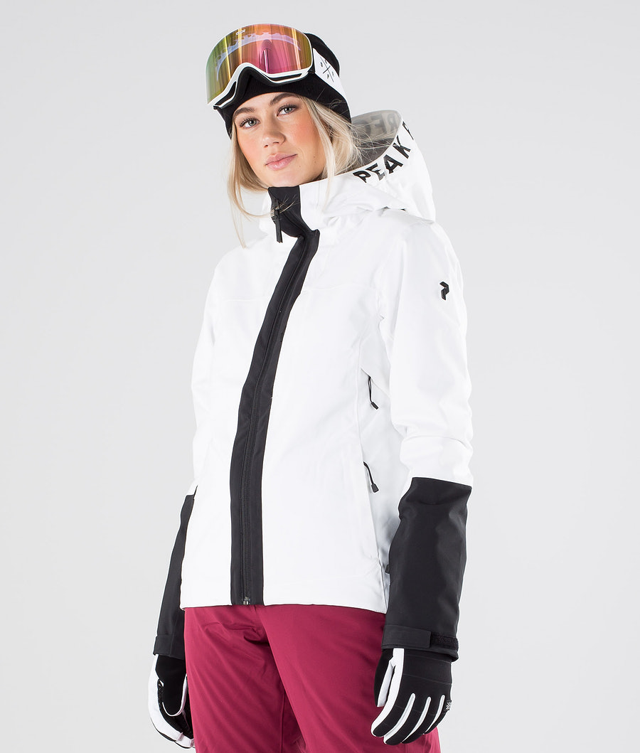 Peak Performance Rider Ski Snowboard Jacket Offwhite