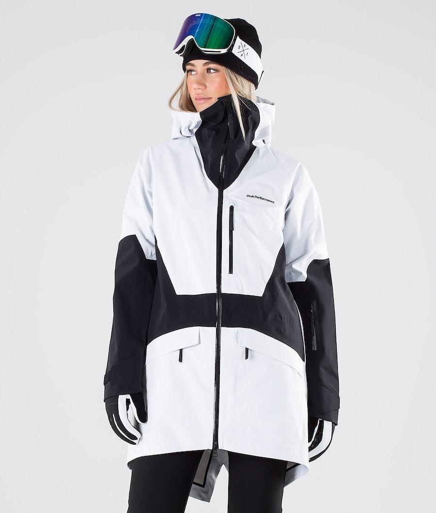 Peak Performance Volcan 3L Parka Snowboard Jacket Offwhite