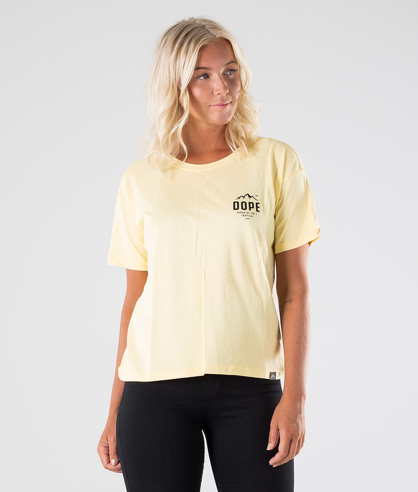 Dope Grand Paradise II T-shirt Yellow