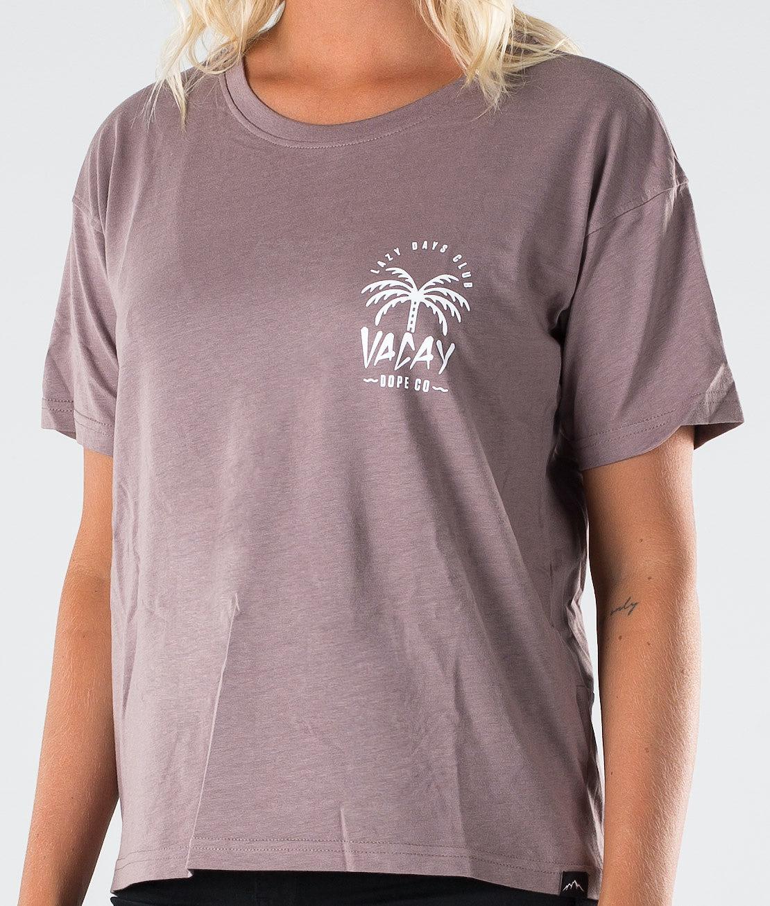 Dope Grand Palm T-shirt Faded Purple