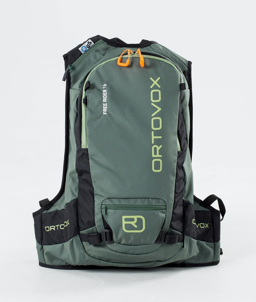 Ortovox Free Rider 16 Snow Bag Green Forest