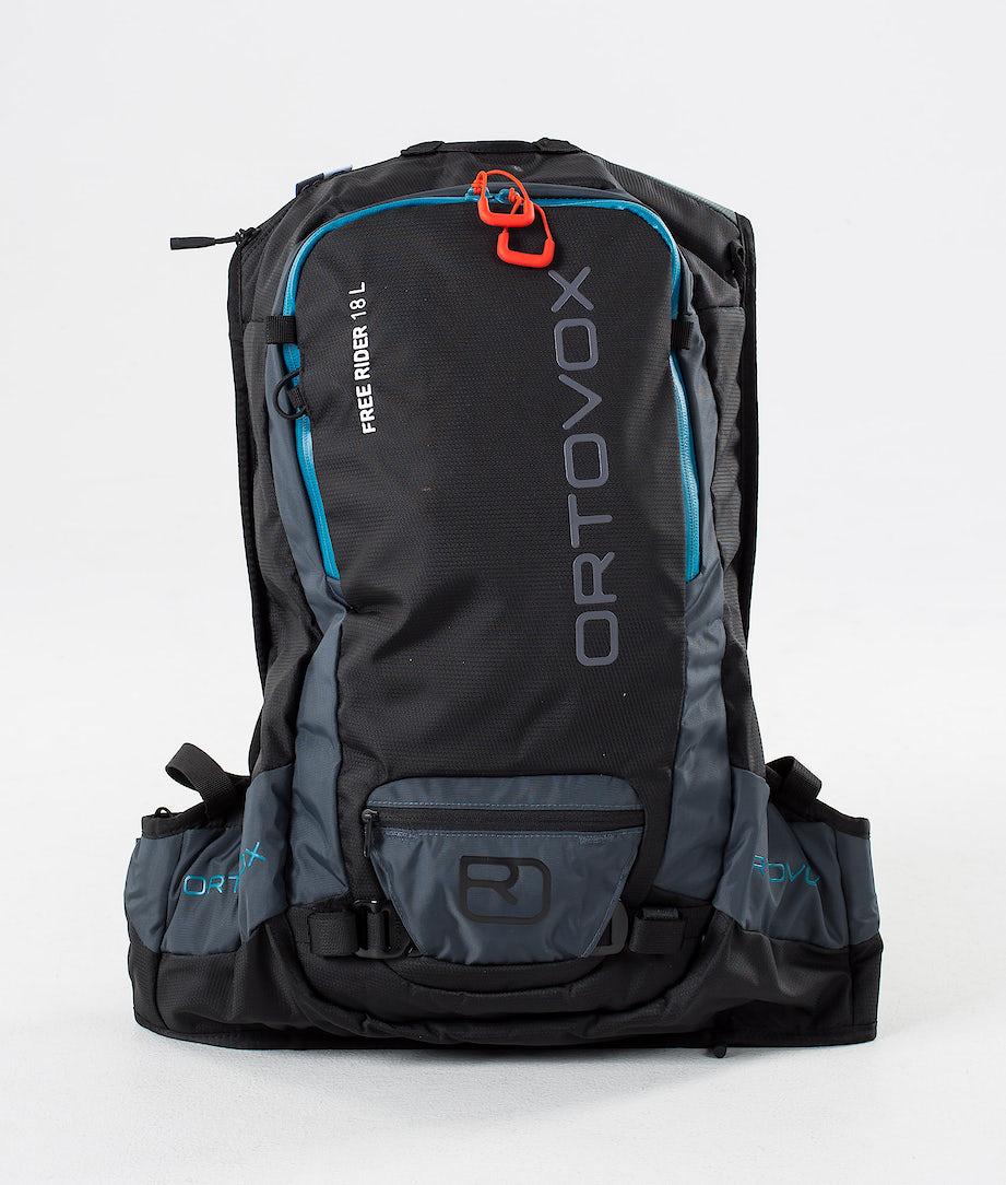 Ortovox Free Rider 18 L Snow Bag Black Raven