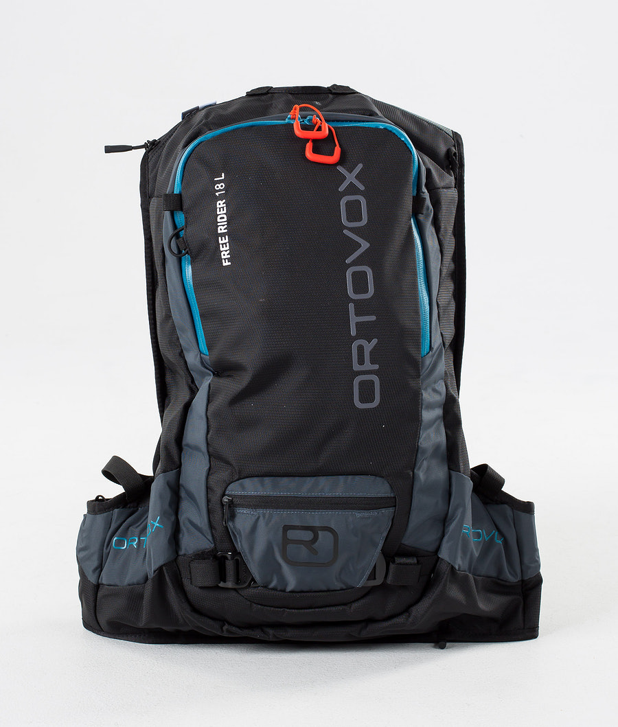 Ortovox Free Rider 18 L Väska Snow Black Raven