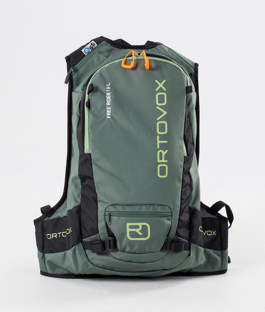 Ortovox Free Rider 18 L Laukku Green Forest