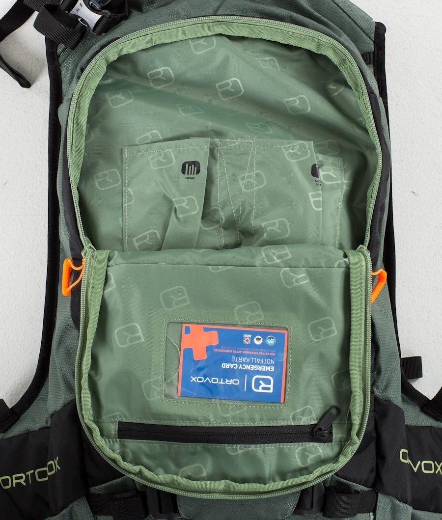 Ortovox Free Rider 18 L Väska Snow Green Forest