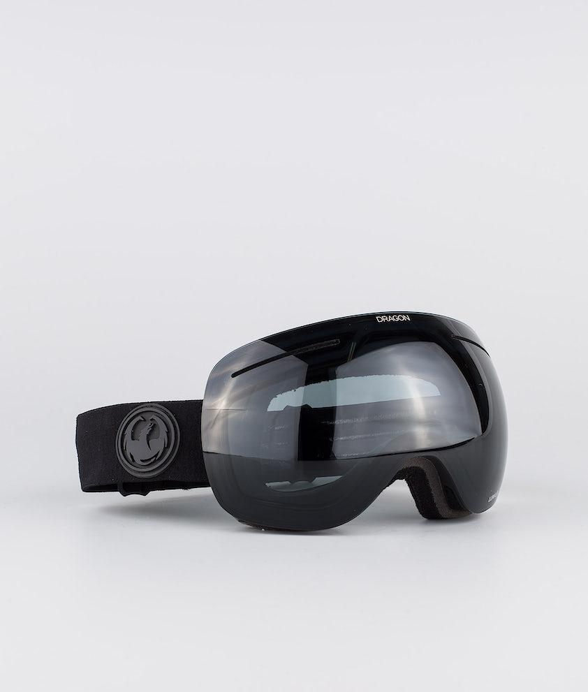 Dragon X1 Skibriller Knight Rider w/Lumalens Dark Smoke+Lulmalens Flash Blue+Lumalens Rose