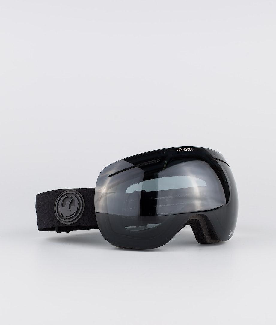 Dragon X1 Ski Goggle Knight Rider w/Lumalens Dark Smoke+Lulmalens Flash Blue+Lumalens Rose