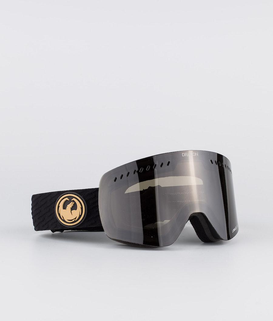 Dragon NFXs Ski Goggle Pk Gumsole w/Lumalens Dark Smoke+Lumalens Rose