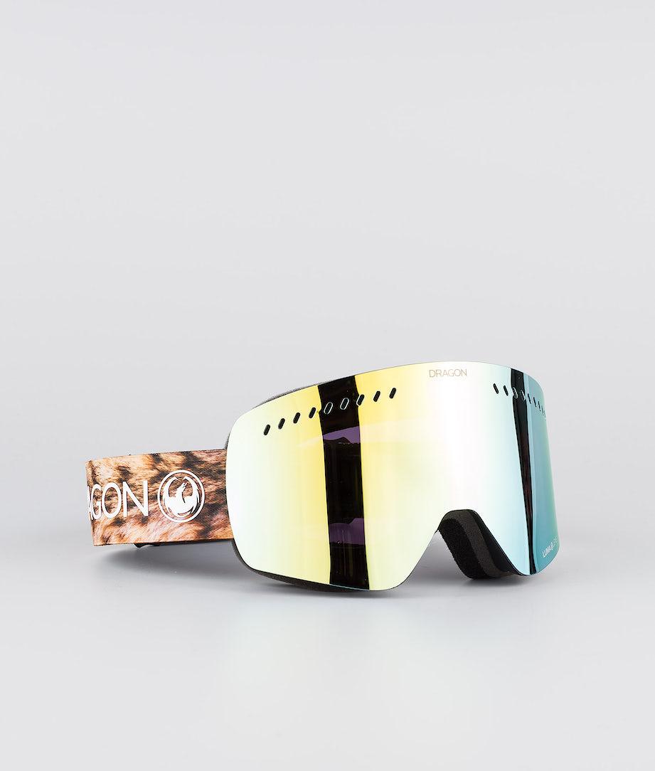 Dragon NFXs Ski Goggle Lynxxx w/Lumalens Gold Ion+Lumalens Amber