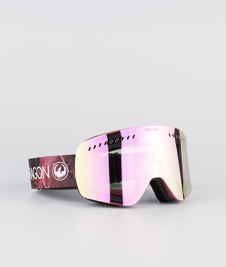 Dragon NFXs Ski Goggle Rose w/Lumalens Pink Ion+Lumalens Rose