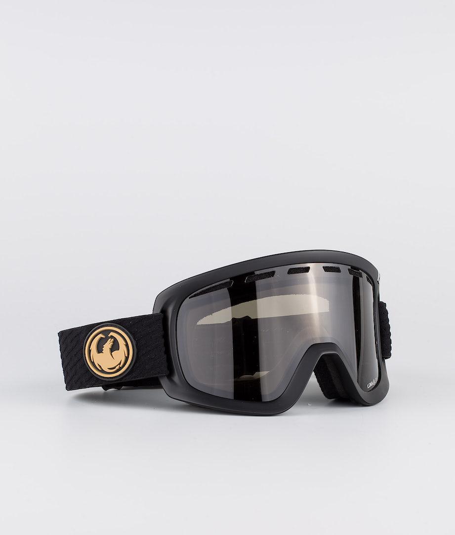 Dragon D1OGT Masque de ski Pk Gumsole w/Lumalens Dark Smoke+Lumalens Amber