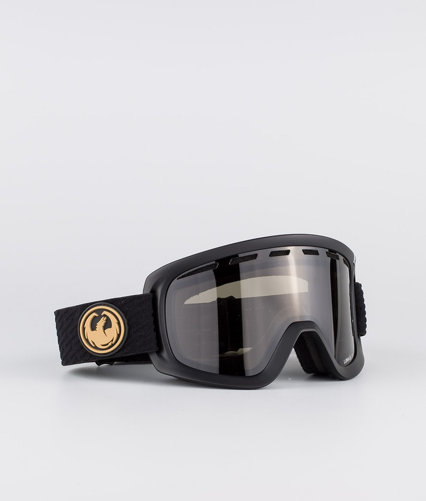Dragon D1OGT Skidglasögon Pk Gumsole w/Lumalens Dark Smoke+Lumalens Amber