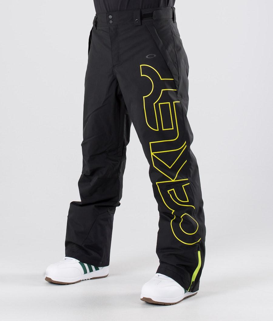Oakley Cedar Ridge Insula 2L 10K Pantalon de Snowboard Blackout
