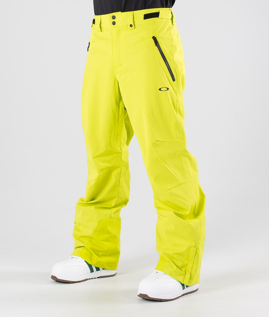 Oakley Crescent 2.0 Shell 2L 10K Pantalon de Snowboard Sulphur