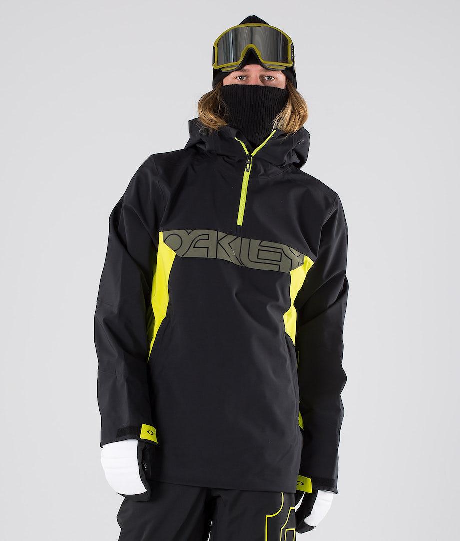 Oakley Black Forest Shell 3L 15K Snowboardjacke Blackout