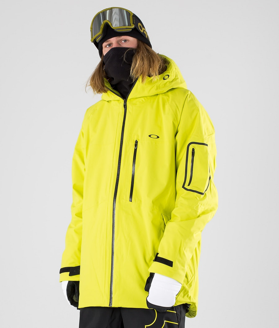 Oakley Cedar Ridge Insula 2L 10K Snowboard Jacket Sulphur