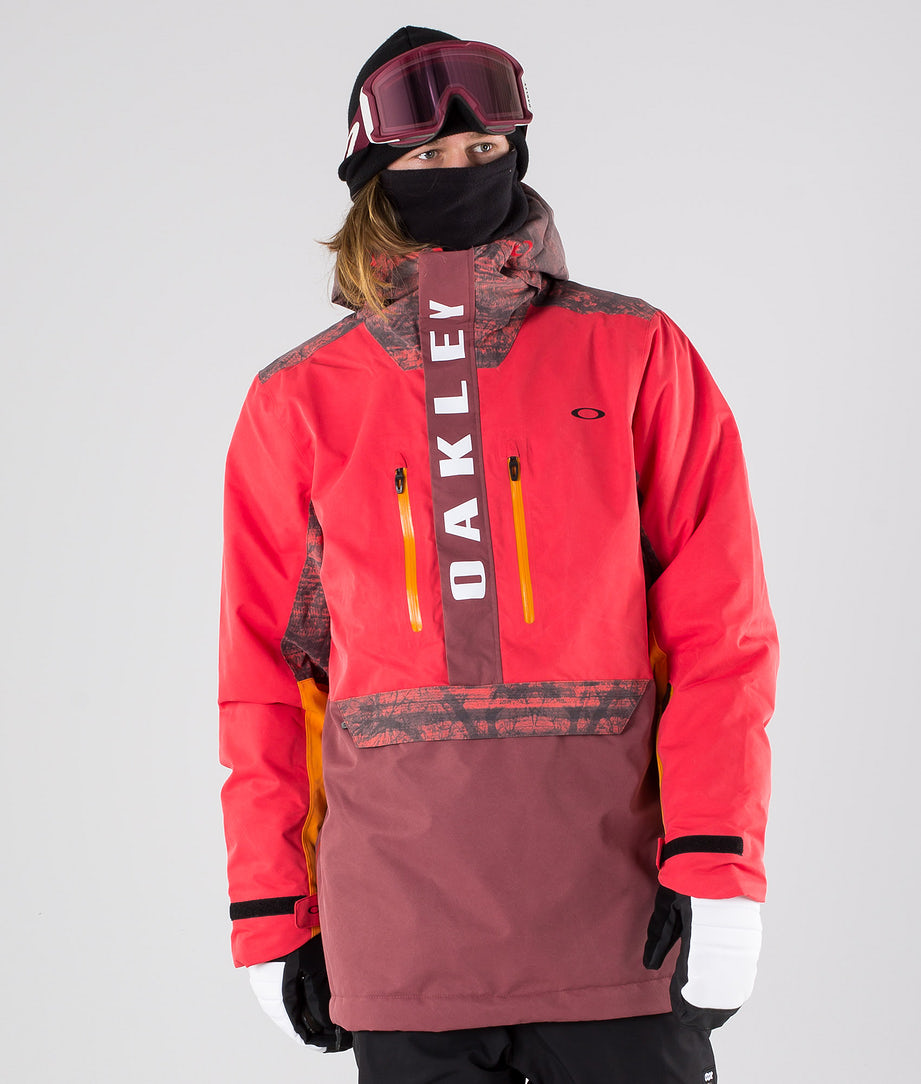 Oakley Regulator Insula 2L 10K Snowboardjacke High Risk Red
