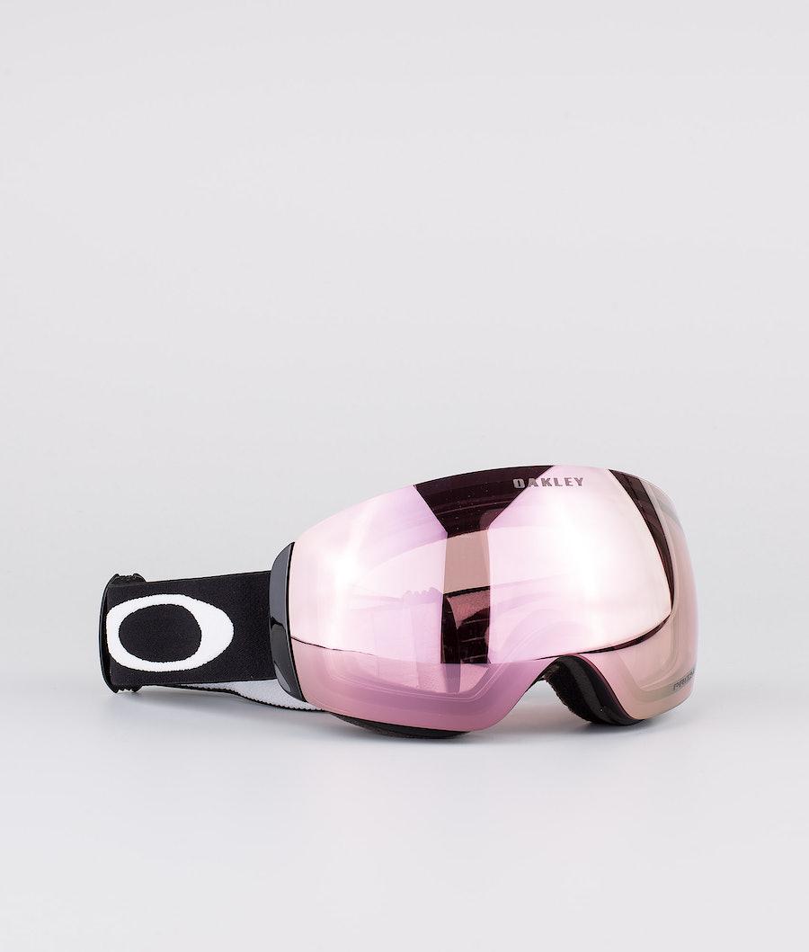 Oakley Flight Deck XM Ski Goggle Matte Black W/ Prizm Hi Pink Iridium