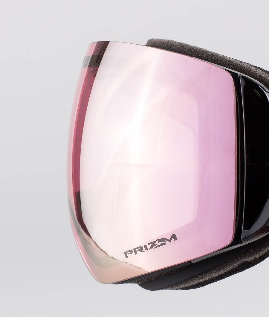 Oakley Flight Deck XM Ski Goggle Matte Black With Prizm Hi Pink Iridium Lens