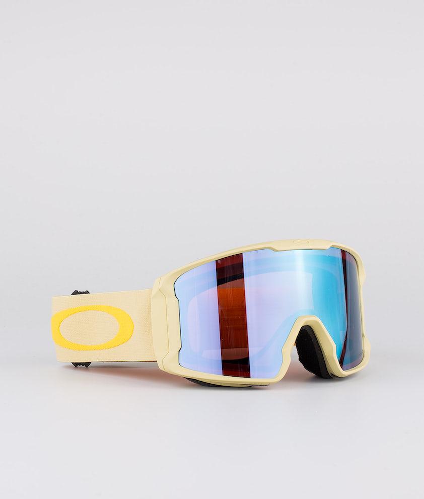 Oakley Line Miner Skibriller Gold W/ Prizm Snow Sapphire Iridium