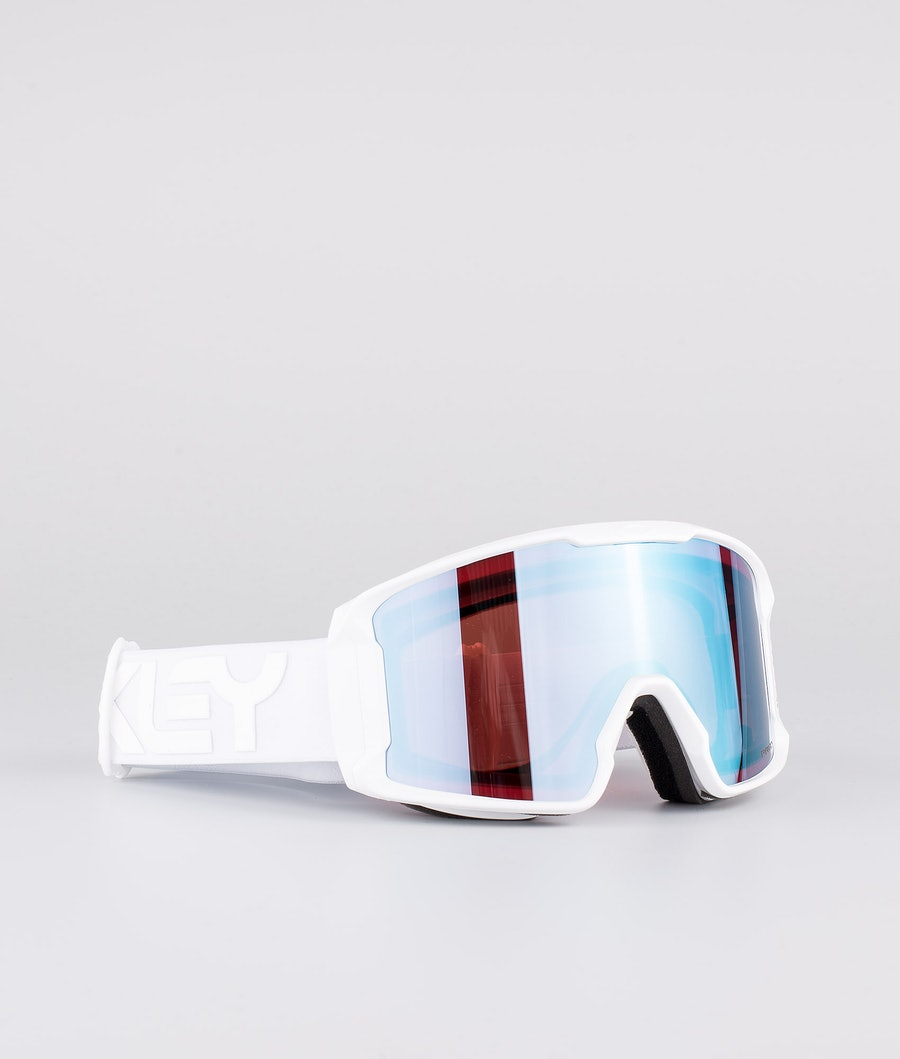Oakley Line Miner XM Ski Goggle Factory Pilot Whiteout W/ Prizm Snow Sapphire Iridium