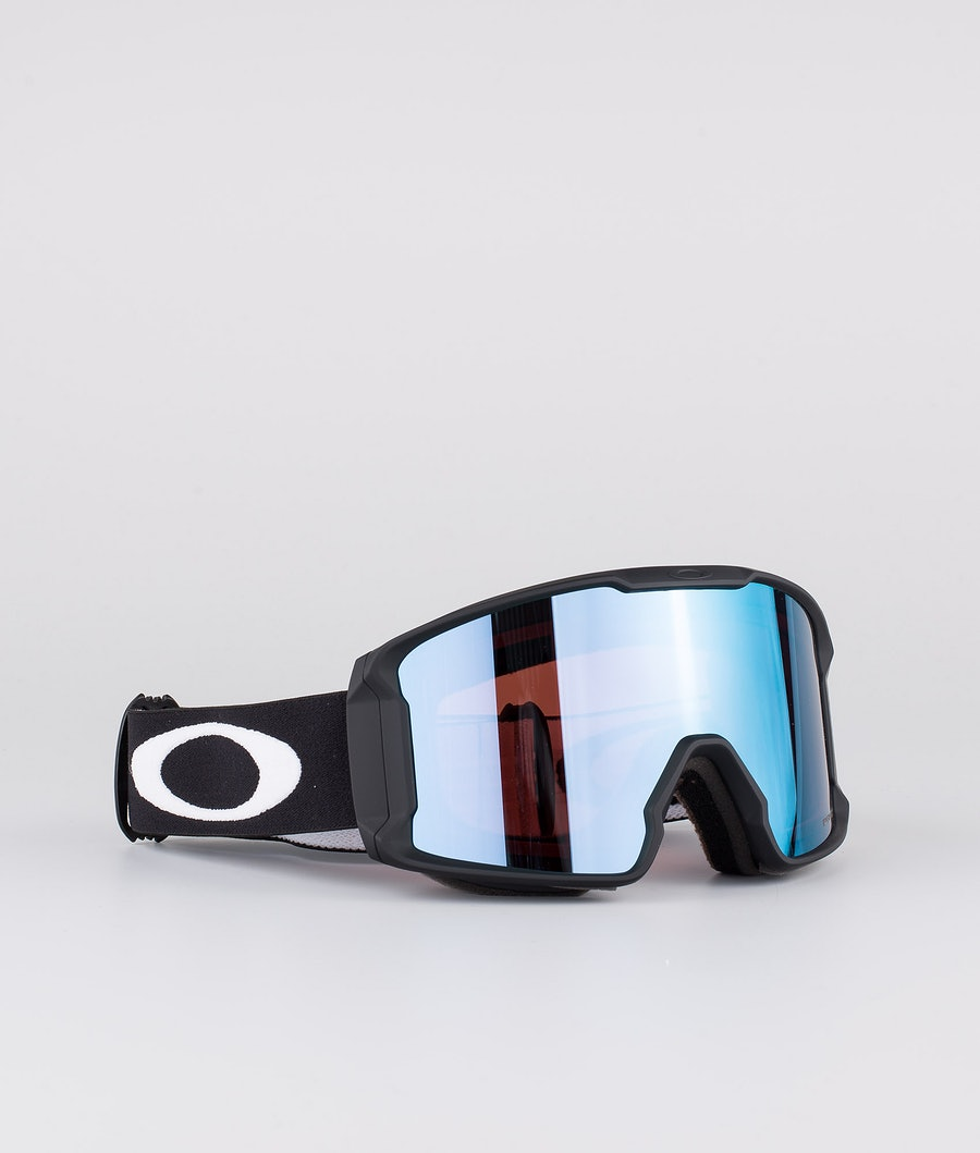 Oakley Line Miner XM Ski Goggle Matte Black With Prizm Snow Sapphire Iridium Lens