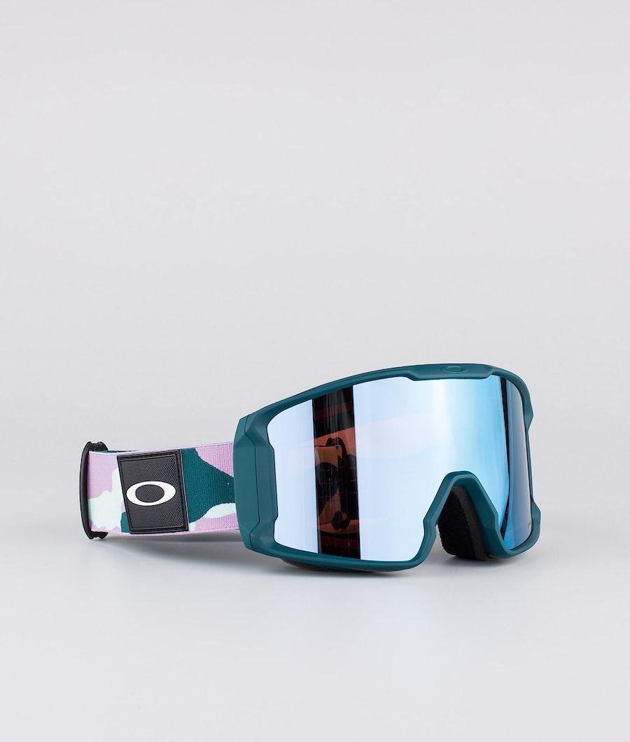 Oakley Line Miner XM Ski Goggle Pink W/ Prizm Sapphire