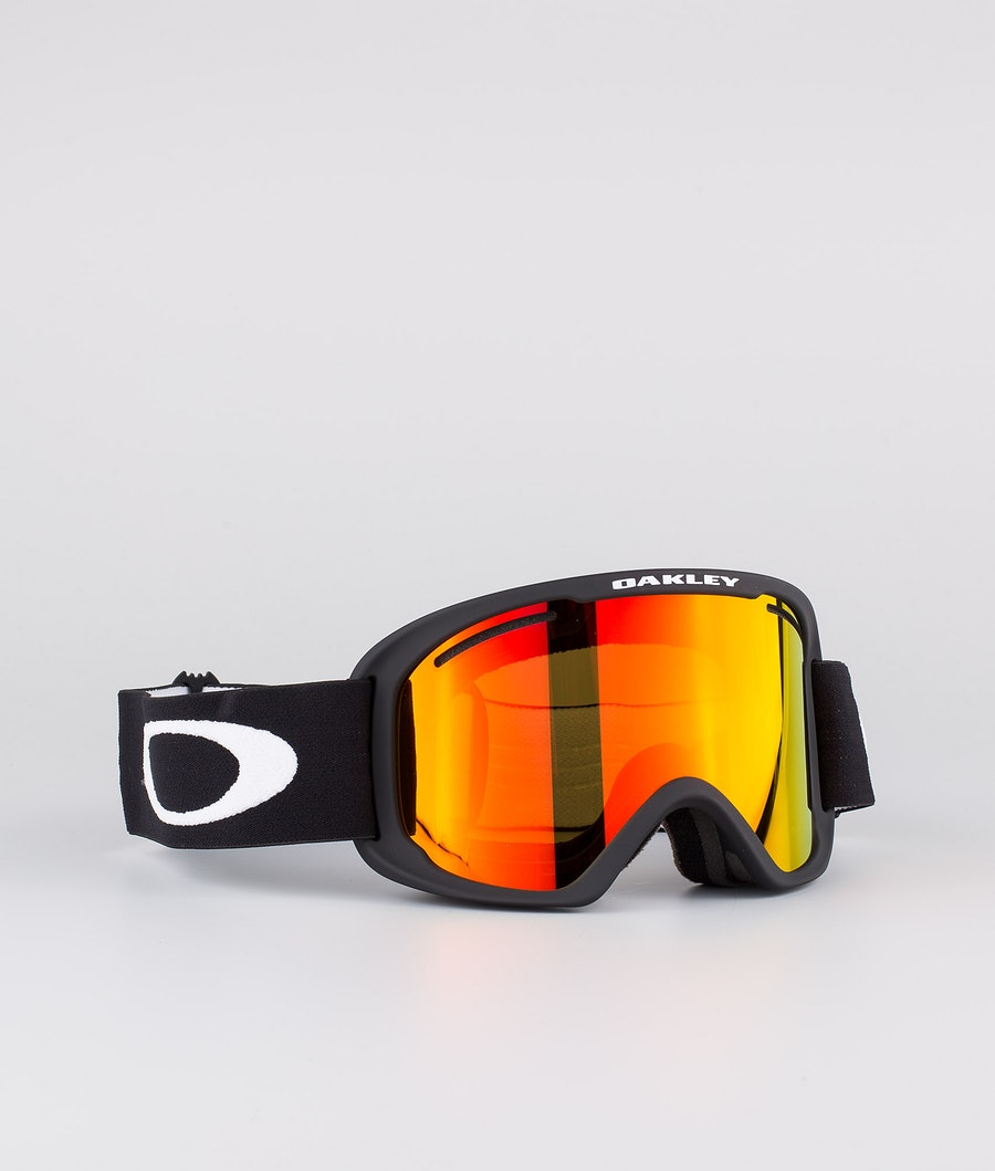 Oakley O Frame 2.0 Pro XL Skidglasögon Black With Fire Iridium & Persimmon Lens
