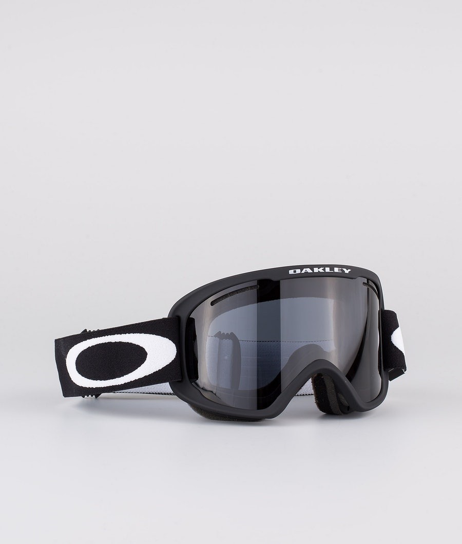Oakley O Frame 2.0 Pro XM Skibriller Matte Black With Dark Grey & Persimmon Lens