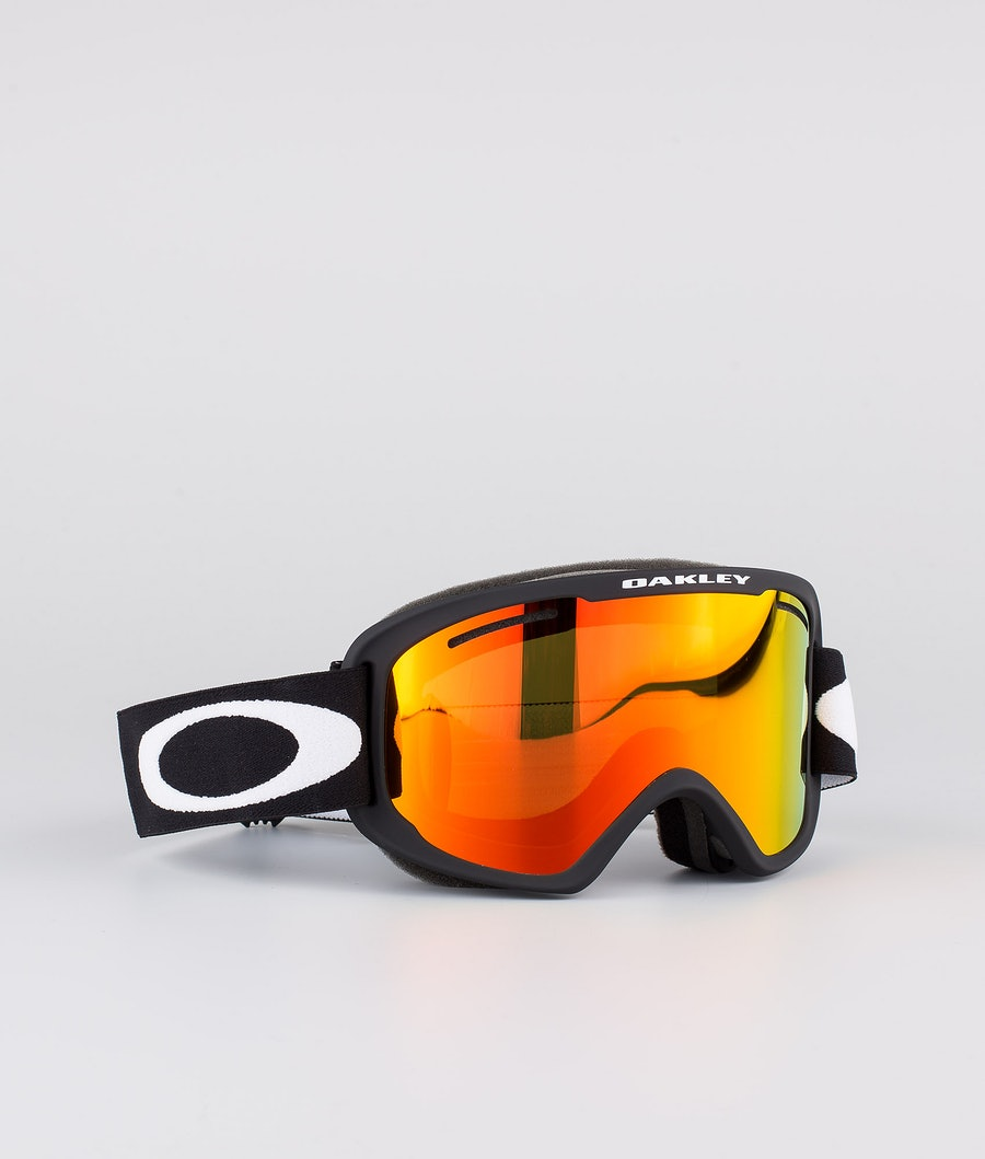 Oakley O Frame 2.0 Pro XM Skidglasögon Matte Black With Fire Iridium & Persimmon Lens