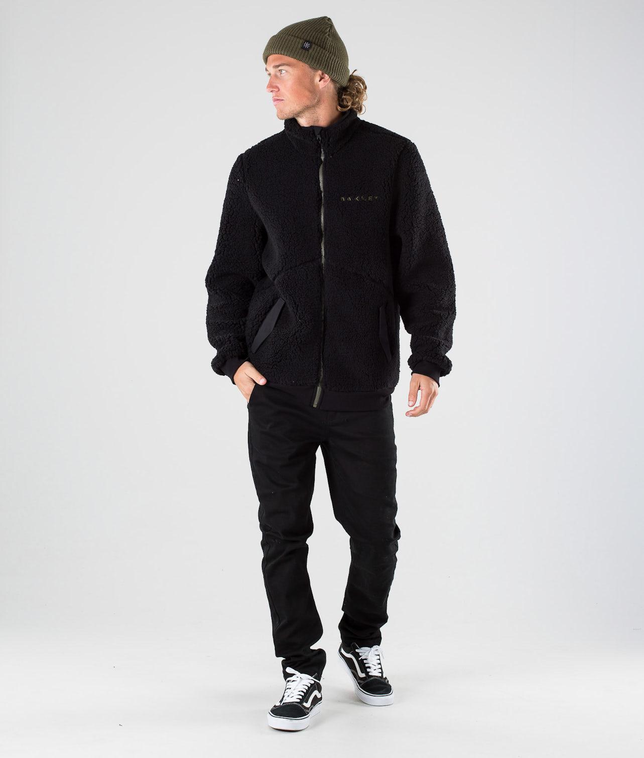 Oakley Diamond Thermal Fleece FZ Jacka Blackout